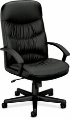 Basyx High Back Executive Leather Chair [VL641] -1