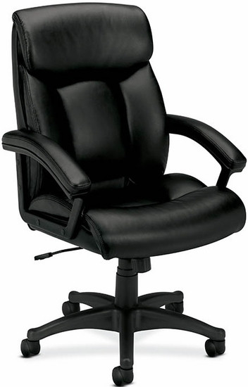 High Back Office Chairs Basyx Leather High Back Office