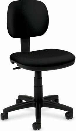 Basyx Pneumatic Armless Office Chair [VL610] -1
