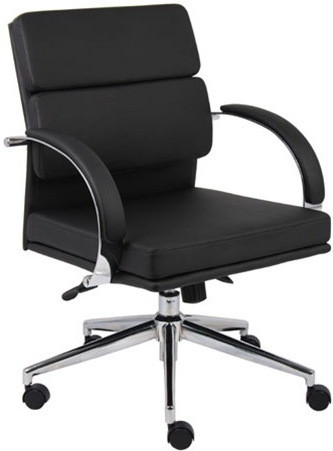 Boss Aaria Mid Back Contemporary Office Chair [B9406] -1