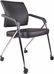 Boss CaressoftPlus™ Padded Folding Chairs [B1800] -1