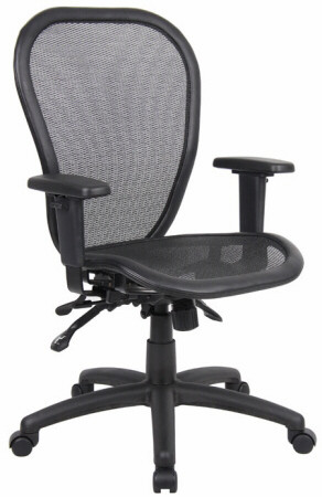 Boss Ergonomic Open Mesh Office Chair [B6018] -1  sc 1 st  Office Chairs On Sale & Ergonomic Mesh Office Chairs - Boss Ergonomic Open Mesh Office Chair ...