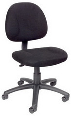Boss Fabric Upholstered Computer Desk Chair [B315] -1
