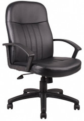 Boss Full Back Leather Desk Chair [B8106] -1