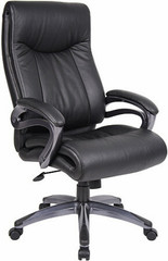 Boss High Back Executive LeatherPlus Chair [B8661] -1