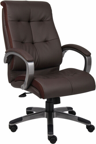 Boss High Back LeatherPlus Office Chair [B8771] -1