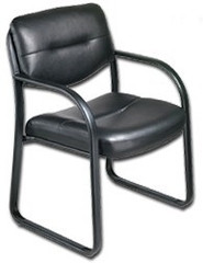 Boss LeatherPlus Guest Chair [B9529]  1