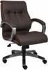 Boss LeatherPlus Mid Back Chair [B8776] -2