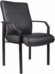 Boss LeatherPlus™ Office Guest Chair [B689] -1