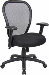 Boss Mesh Office Chair with Optional Headrest [B6608] -1