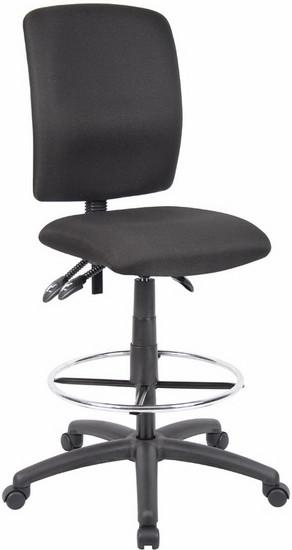 Boss Multi Function Ergonomic Drafting Chair [B1635]  1