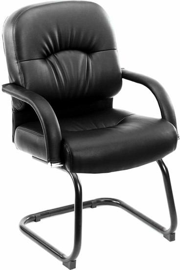 Boss Pillow Back Vinyl Guest Chair B7409