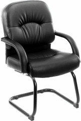Boss Pillow Back Vinyl Guest Chair [B7409] -1