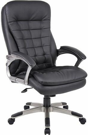 Boss Pillow Top High Back Executive Chair [B9331] -1