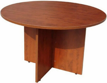 Round Conference Tables Boss Round Conference Table N - Round wood conference table