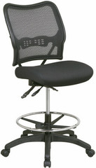 Dual Function Mesh Back Drafting Chair [13-37N30D] -1