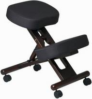 Ergonomic Kneeling Chair with Wood Finish [KCW778] -1