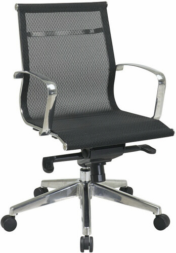Office Star Executive Mid Back Screen Chair [7361M] -1
