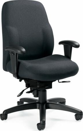 Global Maxima II® Mid Back 24 Hour Chair [2439-16] -1