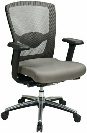 Gray ProGrid™ High Back Mesh Office Chair [511342AL] -1