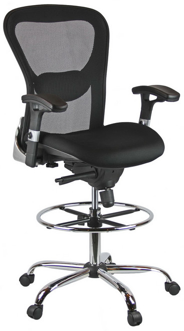 Harwick Deluxe Mesh Drafting Stool [3052D] -1  sc 1 st  OfficeChairsOnSale.com : mesh drafting chair - Cheerinfomania.Com