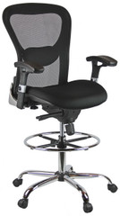Harwick Deluxe Mesh Drafting Stool [3052D] -1