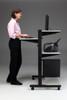 Mayline Height Adjustable Computer Desk [8432SO] -3