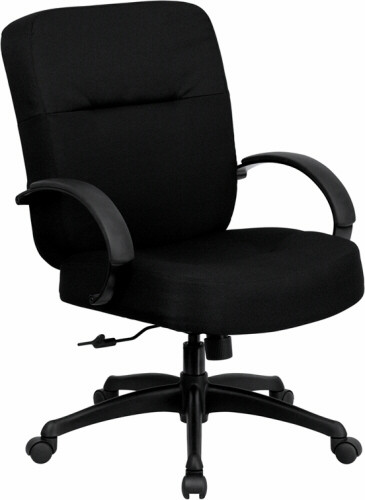 Hercules Series 400lb. Capacity Big and Tall Chair with Wide Seat [WL-723ATG-GG] -1
