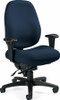 Global Dexter™ High Back Heavy Duty 24 Hour Chair [2436-1] -1