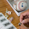 NY Yankees Baseball Cufflinks