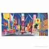Times Square Beach Towel