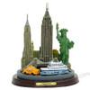 New York City skyline 3D model and statue. New York souvenir