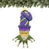 New Orleans Mardi Gras Christmas Ornament