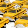 New York Diecast taxis personalized