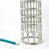 Leaning Tower of Pisa Steel Wire Model Replica