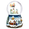Santa Claus is Coming to Town Musical Snow Globes