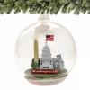 DC Glass Christmas Ornament, Landmarks Memory Globe