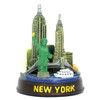 "3.25"" Round New York City Model"