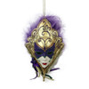 Mardi Gras Mask Ornaments