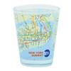 NYC MTA Subway Map Shot Glass