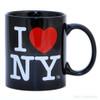 Black Classic I Love NY Mug
