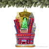 3D Radio City Music Hall Glass Ornament