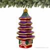Japanese Five Storied Pagoda Ornament - Glass