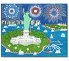 Independence Day Celebration Note Cards