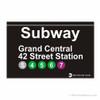Grand Central Station Subway Magnet