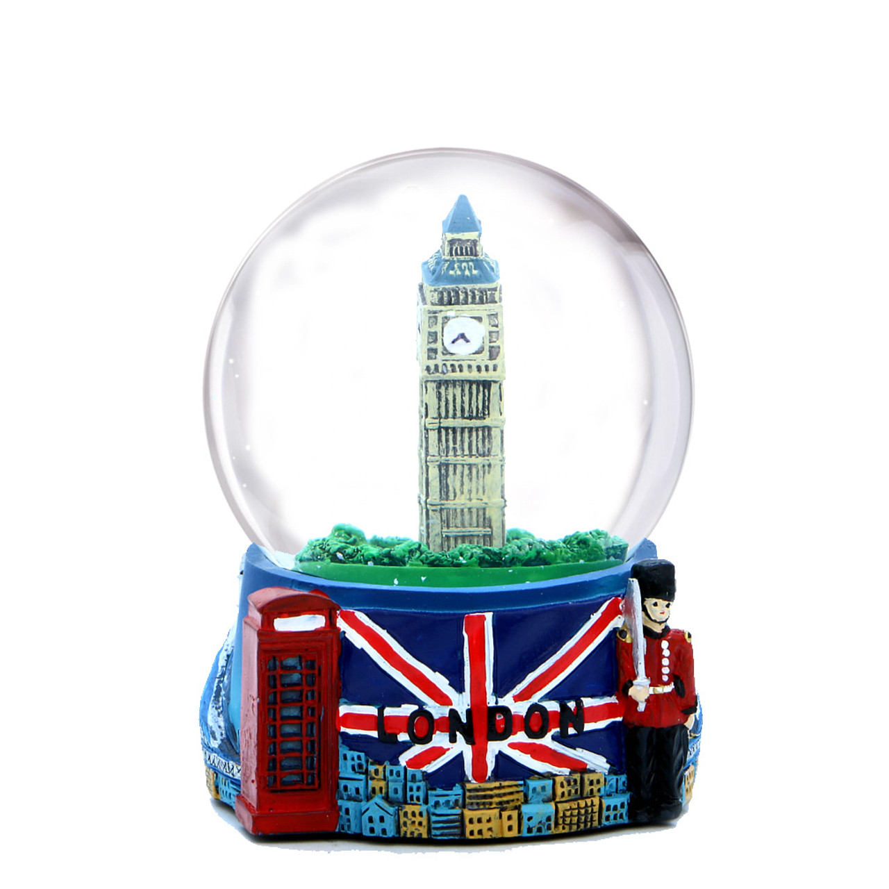 London Snow Globes With Skyline And Big Ben
