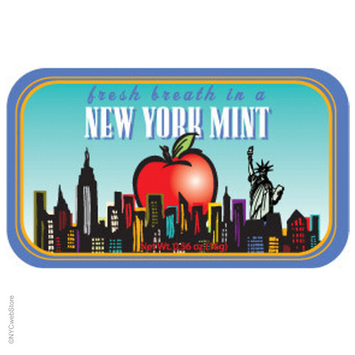 new york city big apple mints 70 pcs each