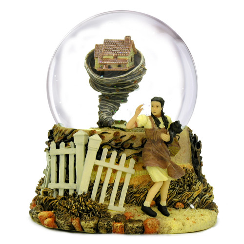 Tornado The Wizard of Oz Snow Globe