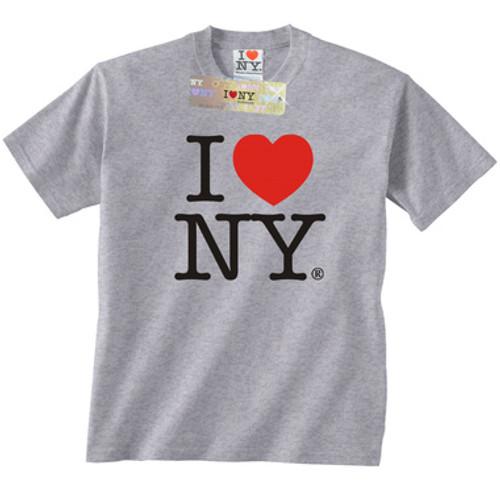 Gray I Love NY T-Shirt