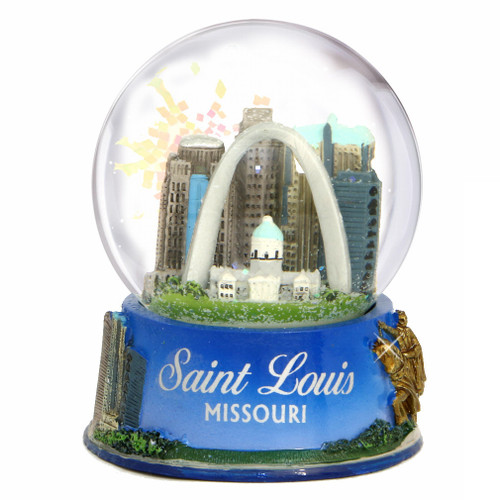 Souvenir Snow Globes From Cities And Countries Around The